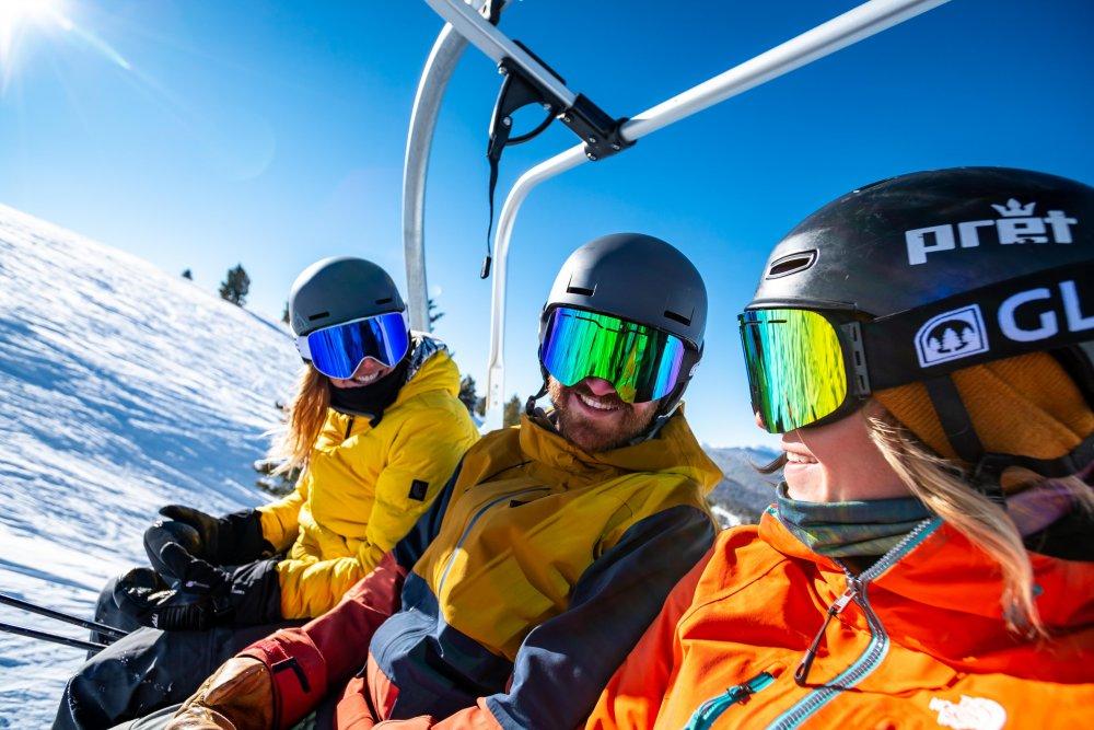 Skibriller er en viktig del av skiantrekket